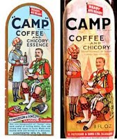Camp coffee jars