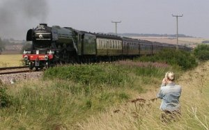 Flying Scotsman loco